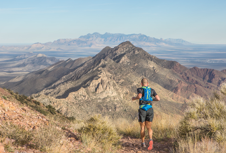 Franklin Mountains Trail Runs 50k, 13.1 mile, 10k, 5k