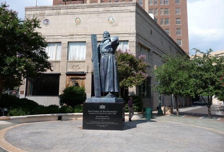 Fray Garcia Monument