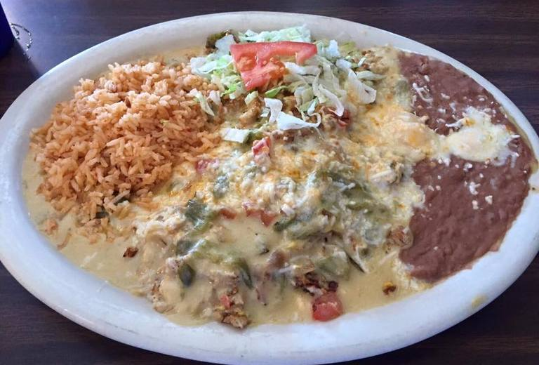 Breakfast Machaca at Kiki's Restaurant & Bar