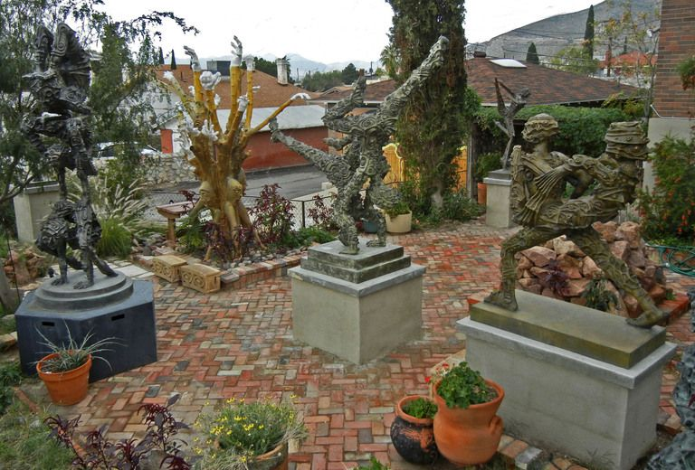 things to do ho baron sculpture garden - The Garden El Paso